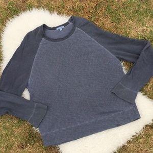 James Perse Standard T-Shirt Gray Size 4